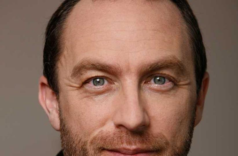 Mr Jimmy Wales (photo credit: Courtesy)