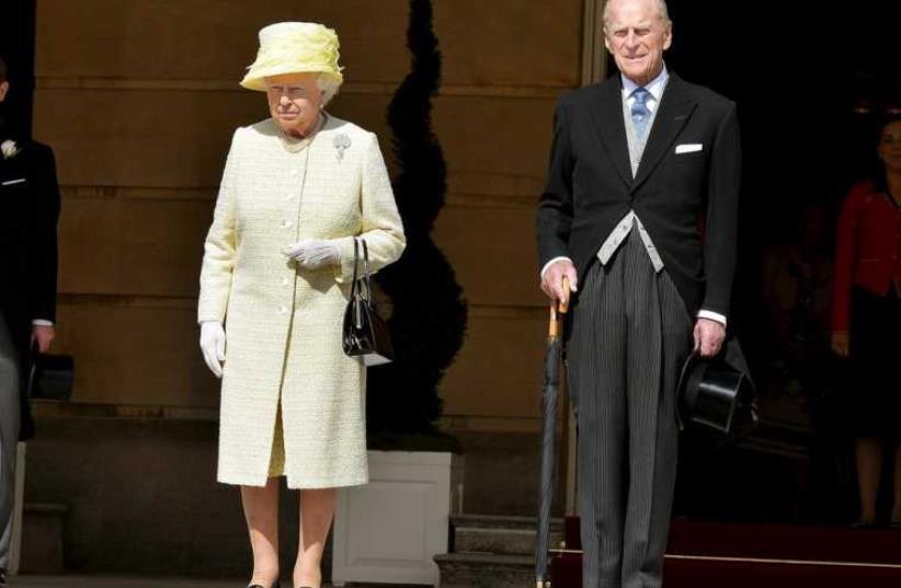 Queen Elizabeth II and Prince Philip (photo credit: REUTERS)