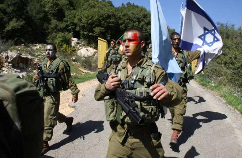 Herev Battalion  (photo credit: IDF)