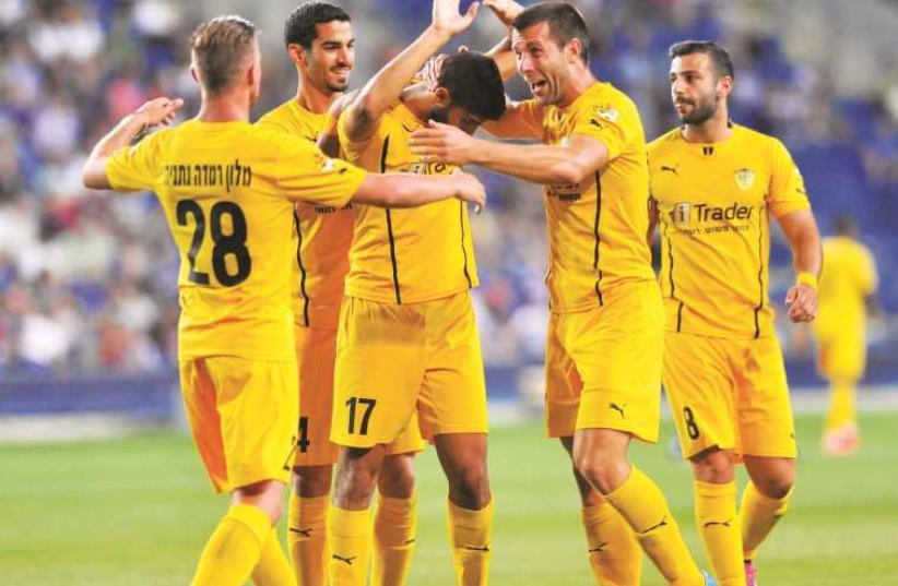 Beitar Jerusalem players (photo credit: ASAF KLIGER)