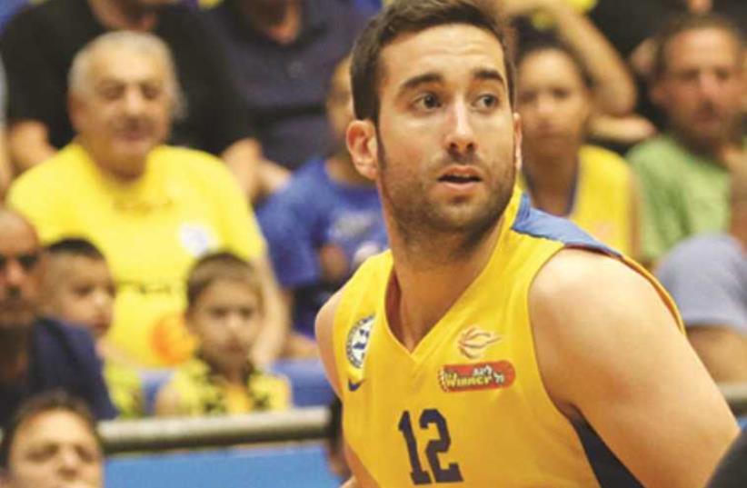 Maccabi Tel Aviv's Yogev Ohayon (photo credit: ADI AVISHAI)