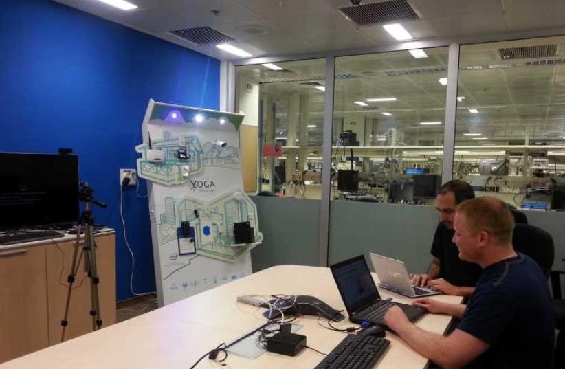 """Internet of Things"" lab in Haifa (photo credit: YOAV DIKSTEIN)"