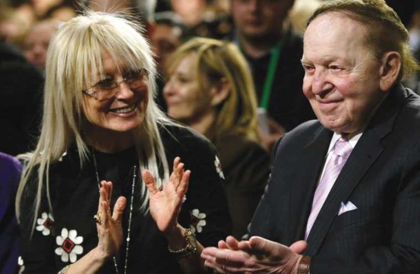 Sheldon Adelson (photo credit: REUTERS)