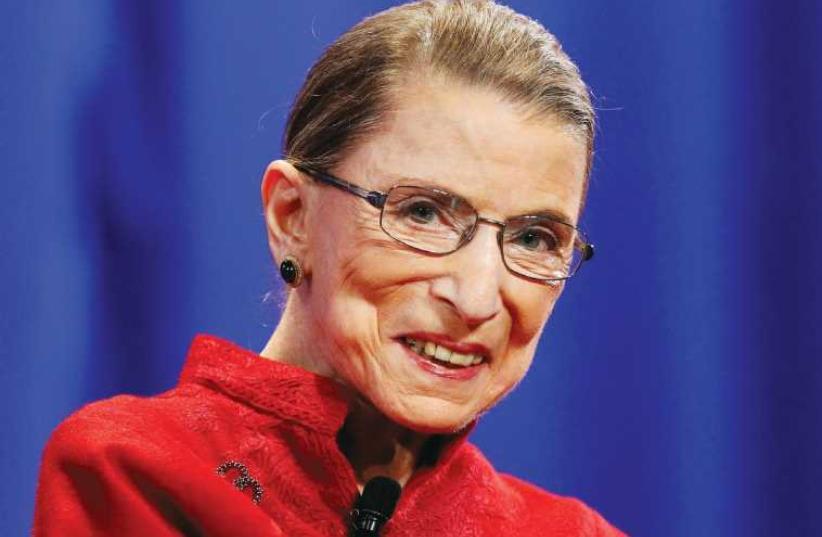 Ruth Bader Ginsburg (photo credit: REUTERS)