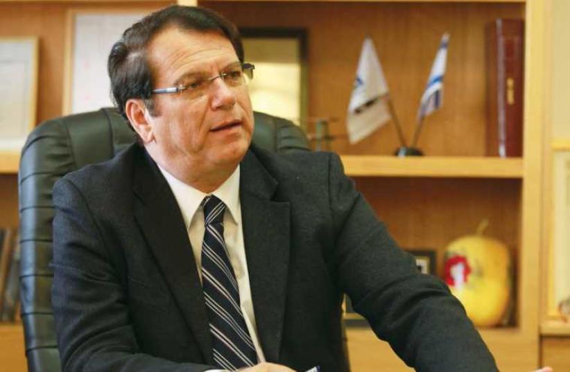 Efi Stenzler (photo credit: MARC ISRAEL SELLEM/THE JERUSALEM POST)