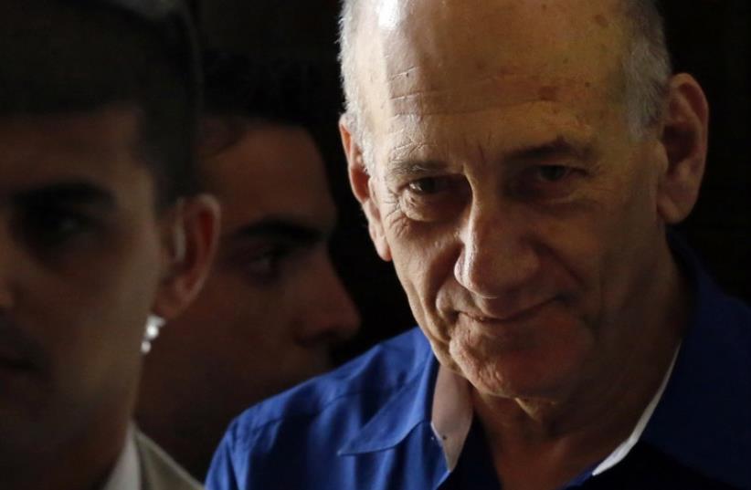 Former Israeli Prime Minister Ehud Olmert (photo credit: REUTERS)