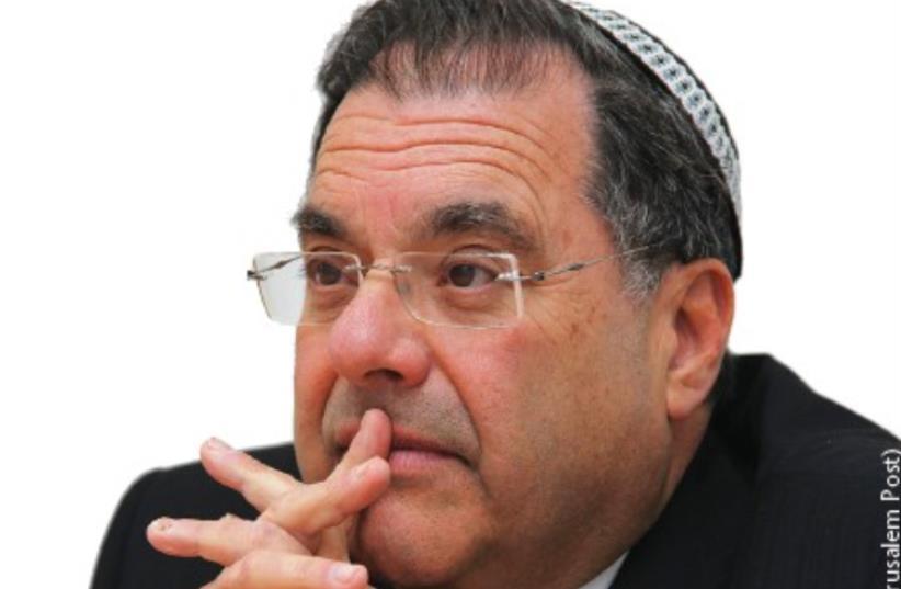 Rabbi Shlomo Riskin (photo credit: MARC ISRAEL SELLEM/THE JERUSALEM POST)