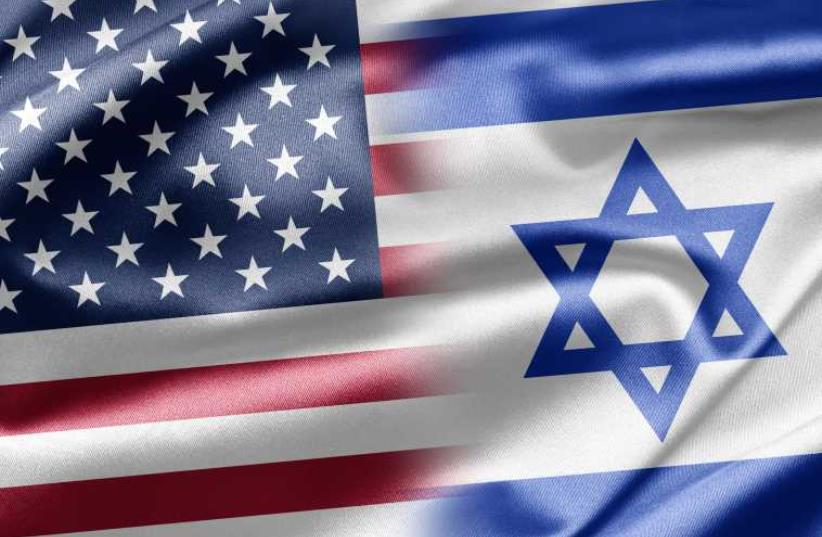 Israel US flags (photo credit: INGIMAGE)