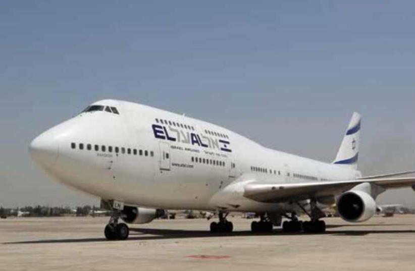El Al plane (photo credit: PR)