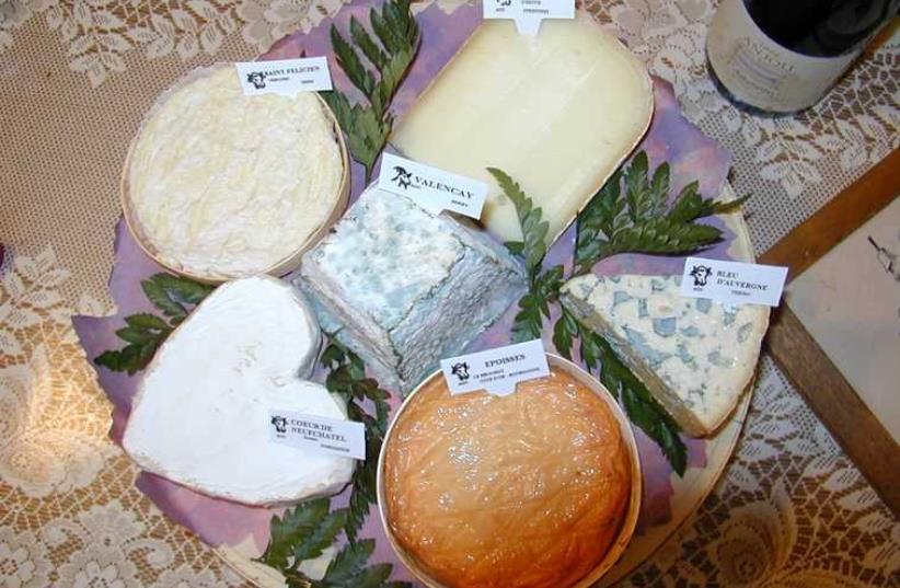 Des fromages bien français (photo credit: WIKIPEDIA)