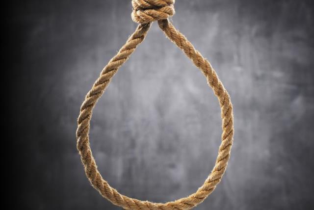 Old rope with hangman's noose (illustrative). (photo credit: INGIMAGE)