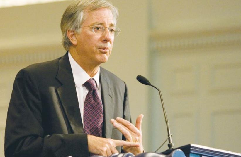 Former US peace negotiator Dennis Ross (photo credit: Wikimedia Commons)