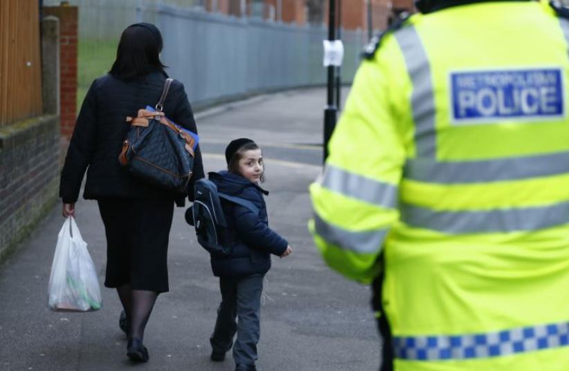 Hassidic Jews in the United Kingdom (photo credit: REUTERS)