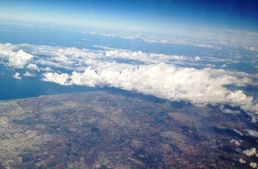 A birds-eye view of Israel (photo credit: AMIT BAR-YOSEF)