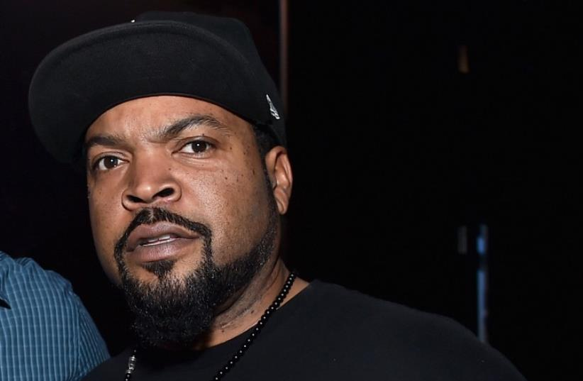 Rapper Ice Cube (photo credit: AFP PHOTO)