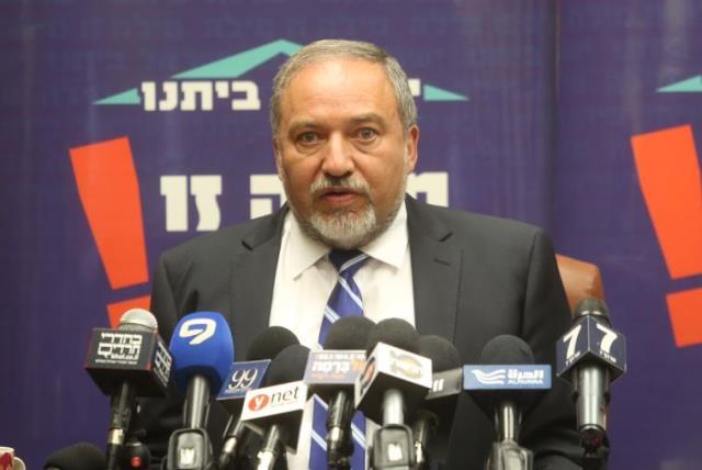 Yisrael Beytenu chief Avigdor Liberman (photo credit: MARC ISRAEL SELLEM/THE JERUSALEM POST)