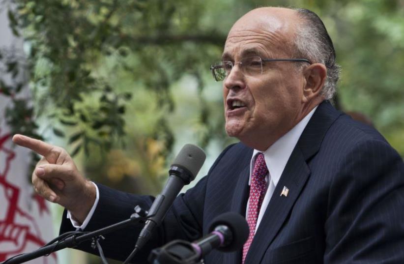Rudy Giuliani (photo credit: REUTERS)
