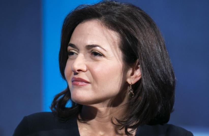 Facebook Chief Operating Office Sheryl Sandberg (photo credit: REUTERS)