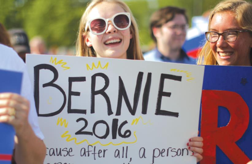 Bernie (photo credit: REUTERS)