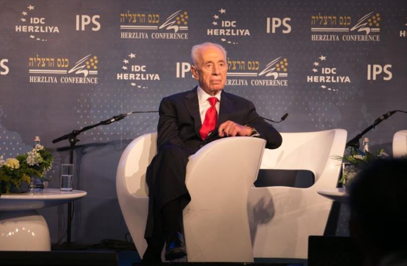 Former president Shimon Peres (photo credit: EREZ HARODI - OSIM TSILUM)