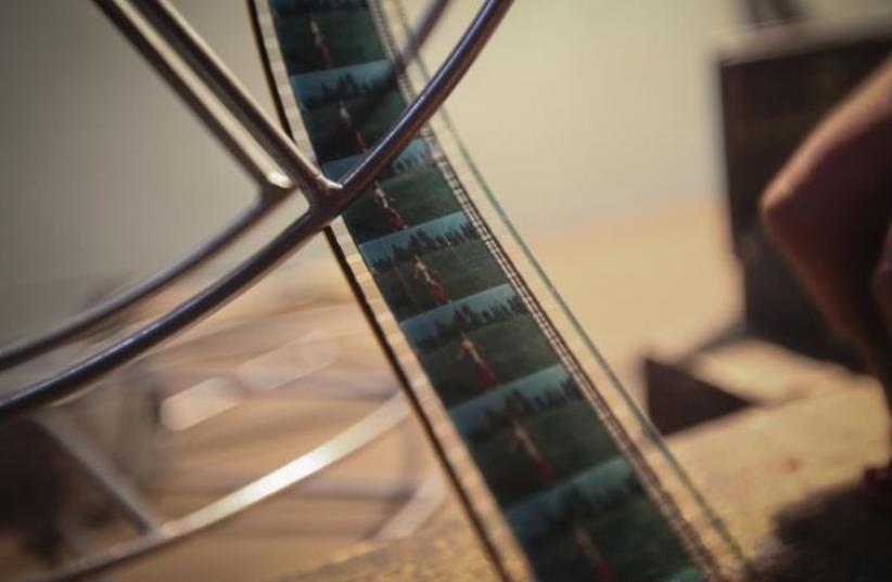 film reel, movie, cinema (photo credit: REUTERS)