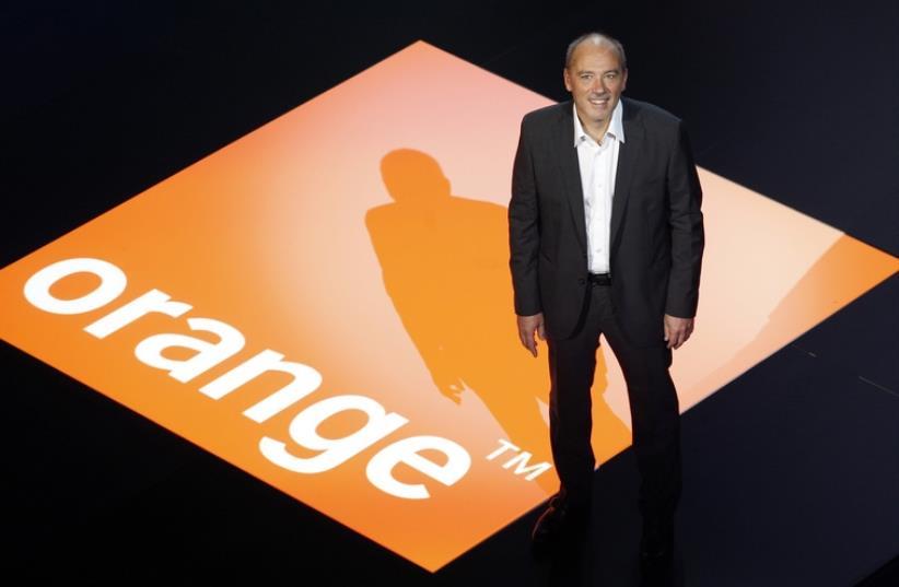 Stéphane Richard, le PDG d'Orange (photo credit: REUTERS)