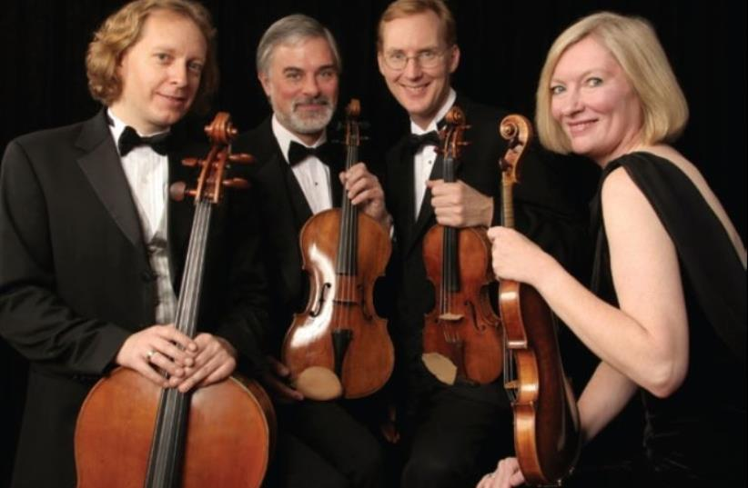 The American String Quartet (photo credit: PR)