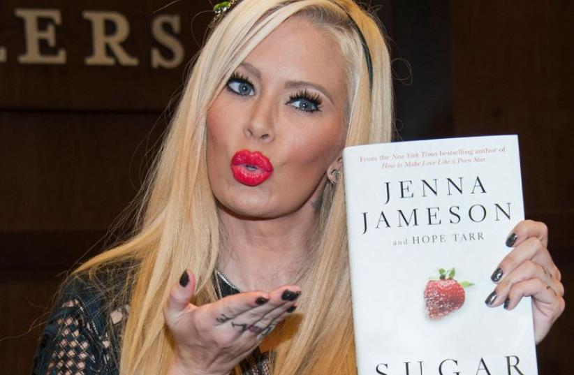 Jenna Jameson  (photo credit: VALERIE MACON / GETTY IMAGES NORTH AMERICA / AFP)