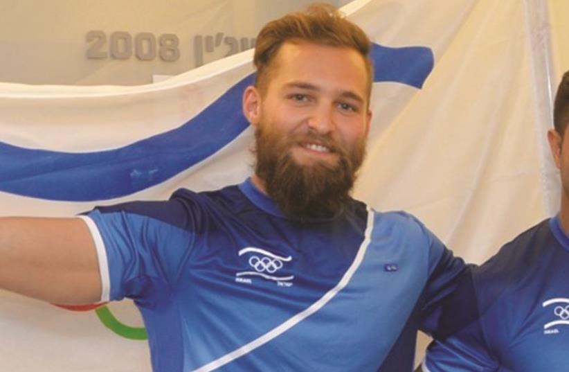 Israeli gymnast Alex Shatilov (photo credit: OCI)