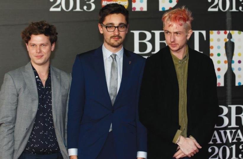 English Indie rock band alt J. (photo credit: REUTERS)