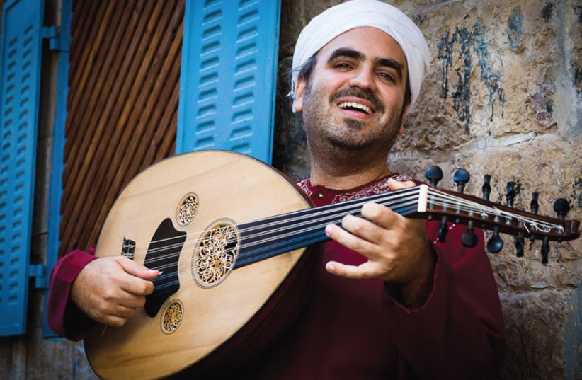 Oud player/violinist Gilad Hazan (photo credit: SHLOMI YOSEF)