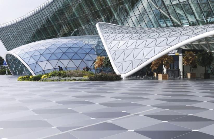 Baku airport with dekton floor by cosentino (photo credit: INGIMAGE)