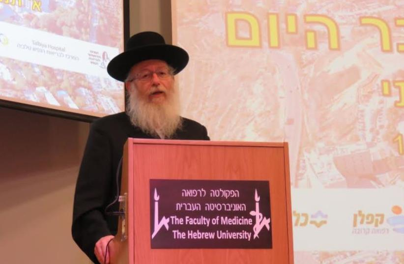 Ya'acov Litzman (photo credit: JUDY SIEGEL-ITZKOVICH)