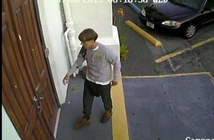 Suspect in South Carolina church shooting (photo credit: REUTERS)
