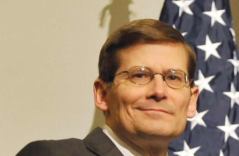FORMER CIA CHIEF Michael Morell (photo credit: Wikimedia Commons)