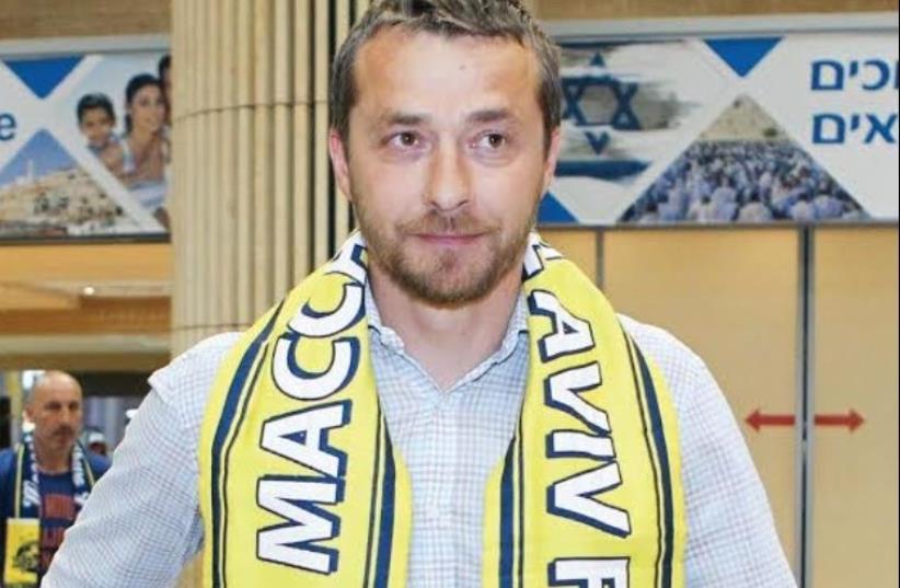 Maccabi Tel Aviv coach Slavisa Jokanovic (photo credit: ADI AVISHAI)