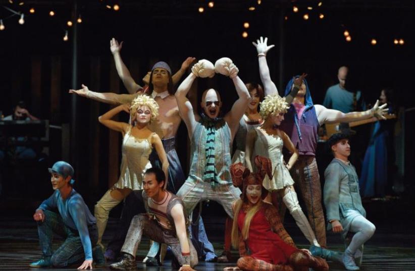 Cirque du Soleil (photo credit: PR)