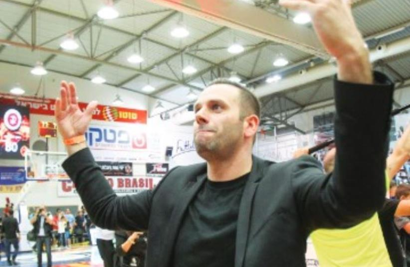 L ESS THAN  two years after assembling an ownership group and purchasing  Hapoel Jerusalem, chairman Ori Allon is on the verge of reaping the fruits of his  investment, with the club on course to claim its first Israeli championship  tomorrow.  (photo credit: DANNY MARON)