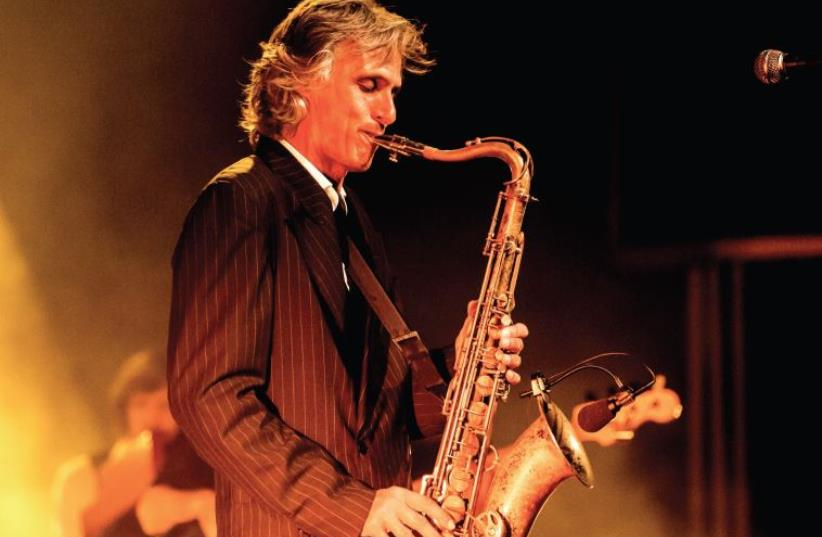 'I WILL always play! You'll have to pry the saxophone out of my hands! ...Music is a passion and it's a obsession,' says former Dire Straits member Chris White (photo credit: TOM CLEARY)