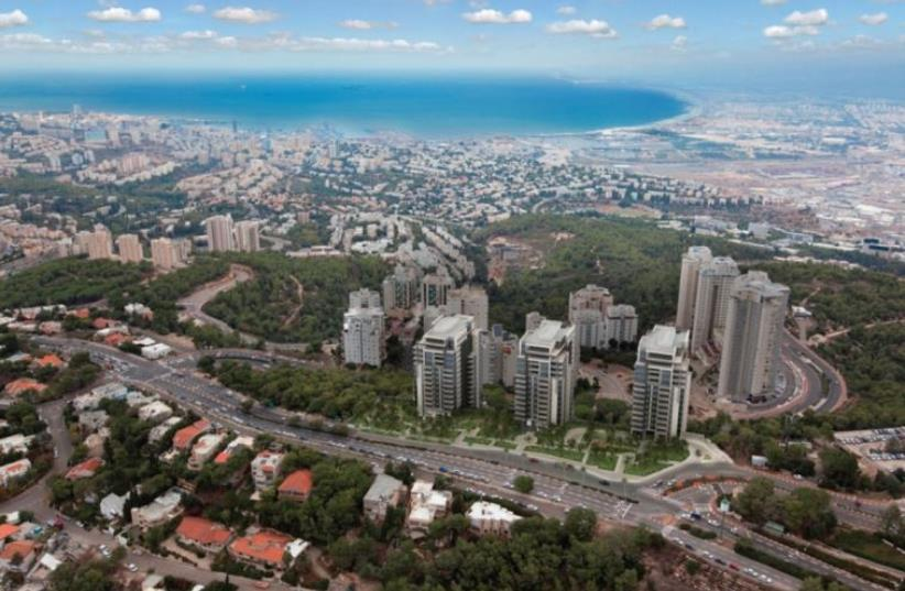 Aerial view of Haifa (photo credit: COURTESY ASHDAR)