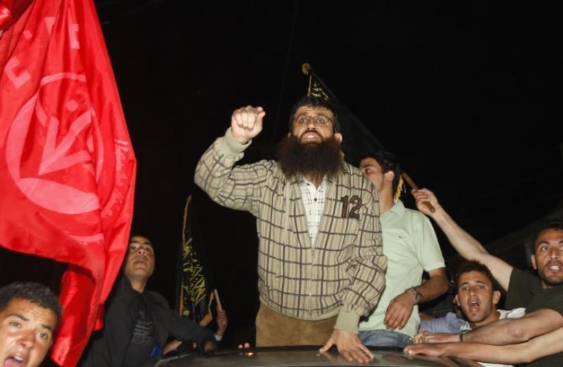 Khader Adnan (photo credit: REUTERS)