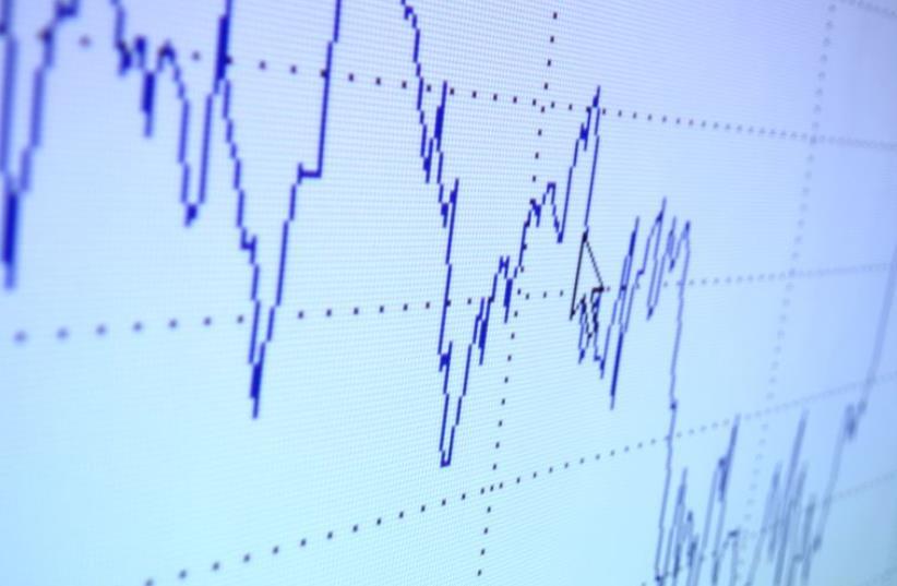 Financial graph (photo credit: INGIMAGE PHOTOS)