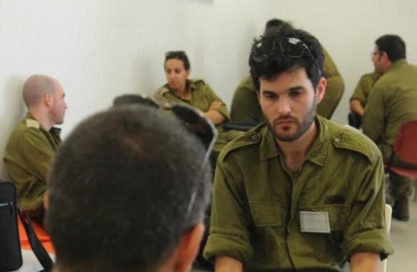 IDF's mental health officers drill (photo credit: IDF SPOKESMAN'S UNIT)