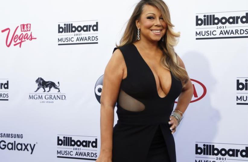 Mariah Carey at the 2015 Billboard Music Awards in Las Vegas (photo credit: REUTERS)