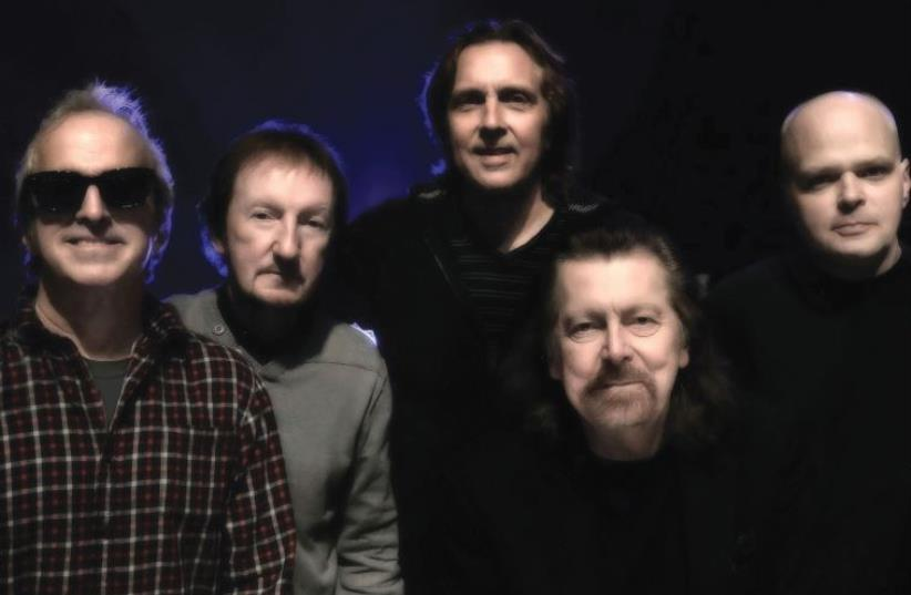 Members of The Orchestra: From left; Glen Burtnik, Mik Kaminski, Eric Troyer, Louis Clark, Gordon Townsend (photo credit: Courtesy)