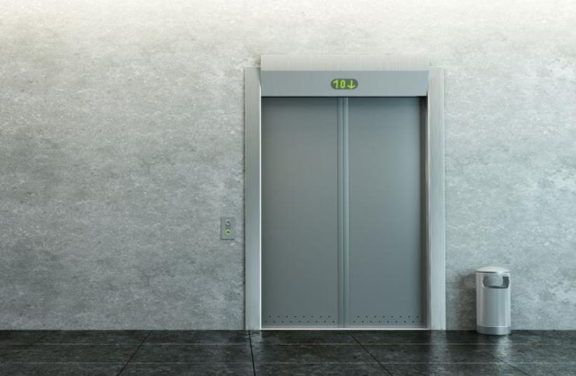 Elevator (illustrative) (photo credit: MARC ISRAEL SELLEM/THE JERUSALEM POST)