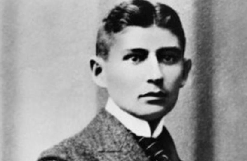Franz Kafka (photo credit: Courtesy)