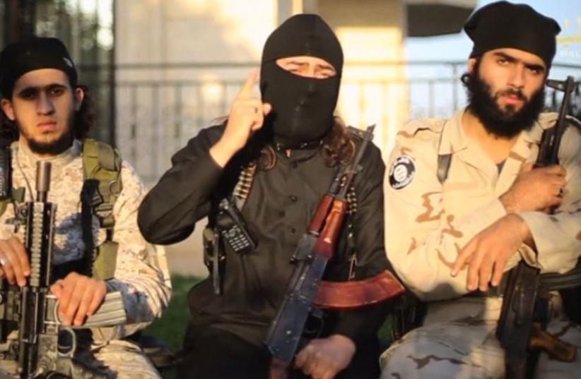 ISIS threatens to 'uproot the Jewish state' (photo credit: screenshot)