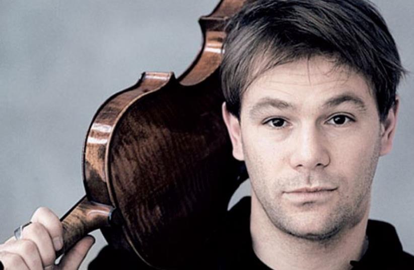 Israeli-born violist Amihai Grosz (photo credit: PR)