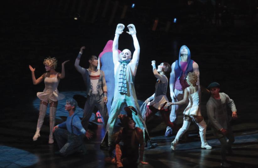 Cirque Du Soleil's 'Quidam' at the Menora Mivtachim Arena in Tel Aviv (photo credit: ORIT PNINI)